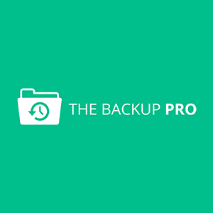 The Backup Pro Logo